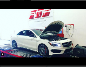 mercedes cla45 tuning