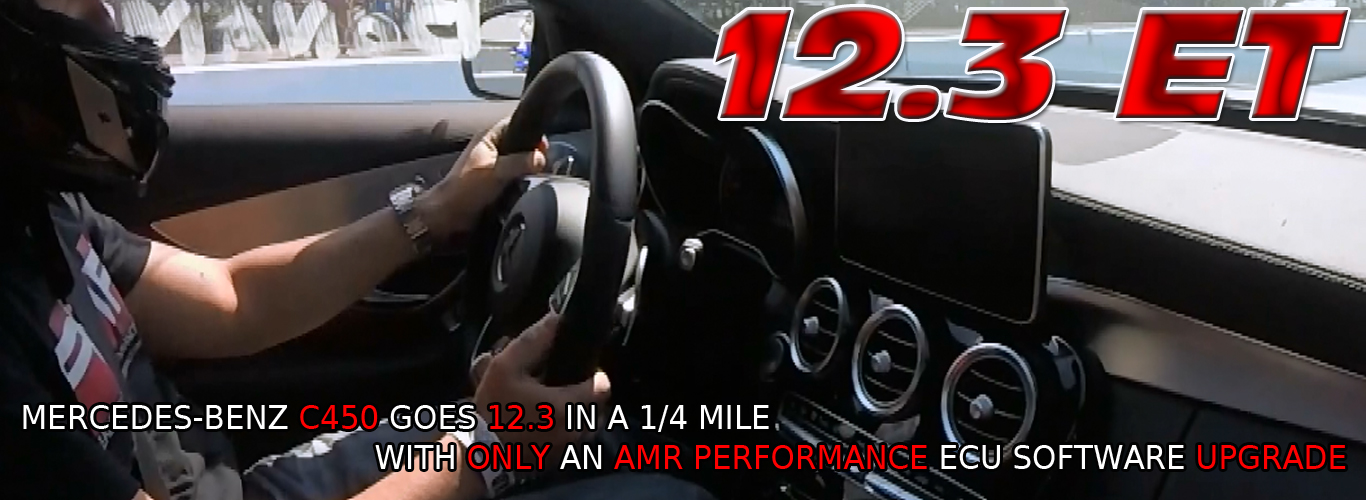 AMR Performance tuned Mercedes Benz C450 goes 12.3et (mercedes c450 tune)