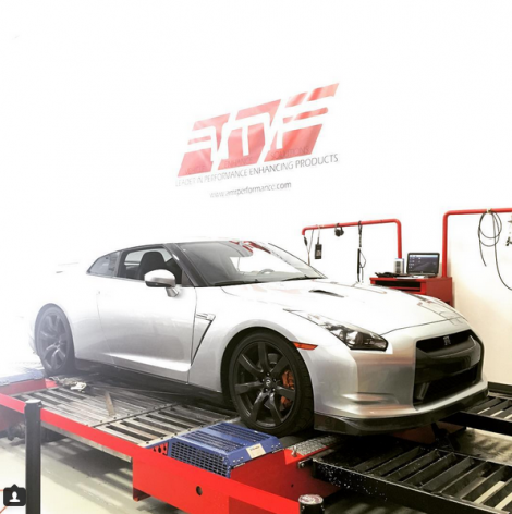 AMR Performance tuned Nissan GTR