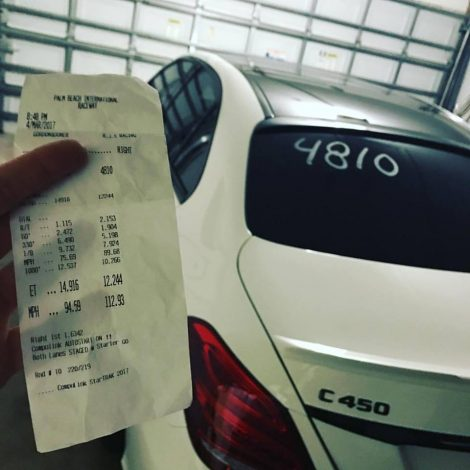 AMR Performance tuned Mercedes-Benz C450 goes 12.2!