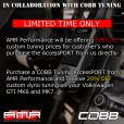 AMR Performance & COBB Tuning Accessport Collaboration