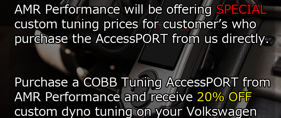 AMR Performance & COBB Tuning Accessport Collaboration