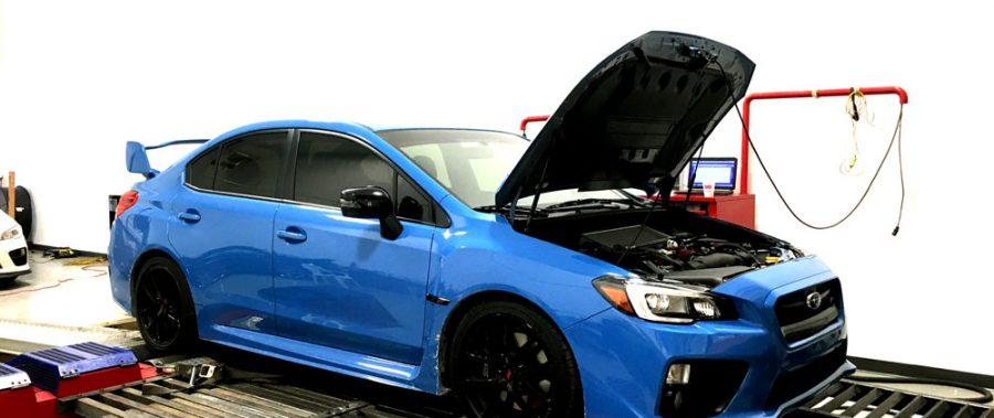 2016 Subaru STi: STOCK -vs- STAGE 1+ (AMR BMI Cold Air Intake System) Test Data