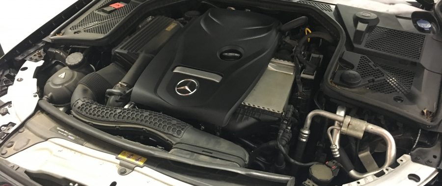 Mercedes-Benz C300 (w205) ECU Removal Guide