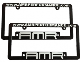 AMR Performance - License Plate Frames