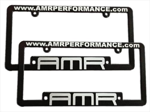 AMR Performance - License Plate Frames