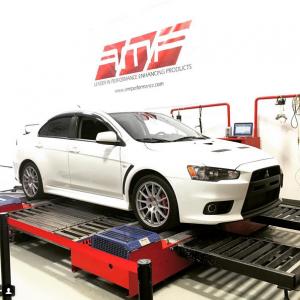 AMR Performance tuned Mitsubishi EVO X