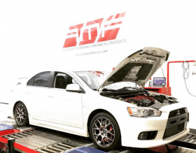 AMR Performance tuned Mitsubishi EVO X