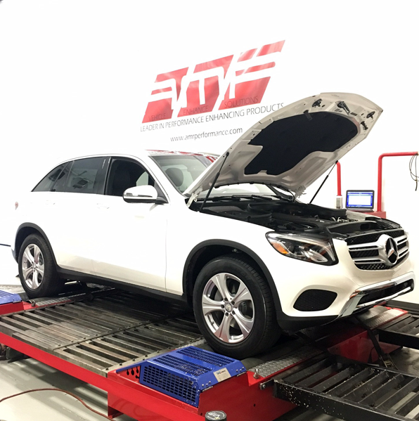 Mercedes GLC300 Custom In-House Dyno Tuning