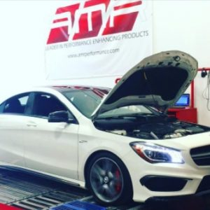 CLA45 ECU TUNING