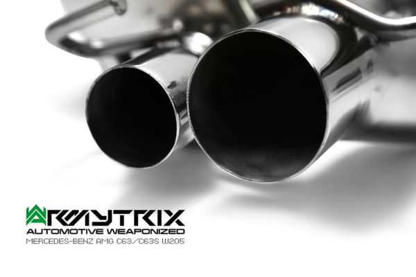 ARMYTRIX Stainless Steel Valvetronic Catback Exhaust System Mercedes-Benz C63 AMG | AMG S