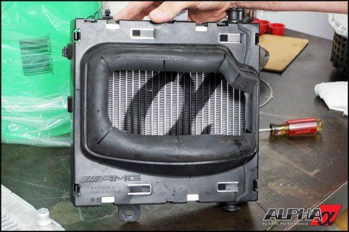 Alpha Performance Mercedes-Benz 45 Series AMG Heat Exchanger Upg