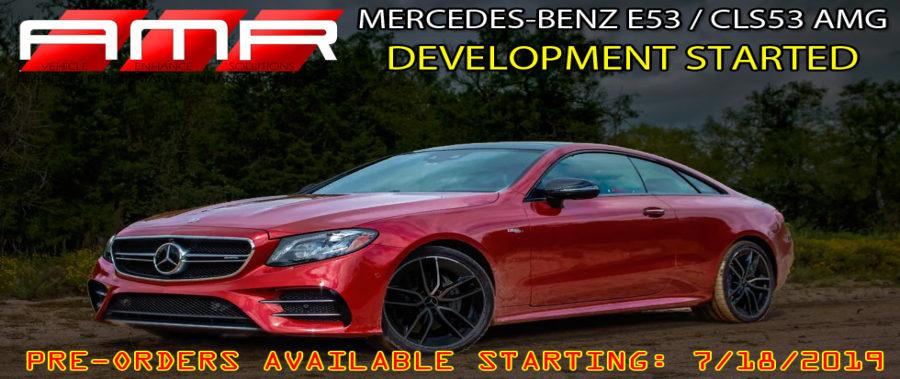 THE NEW MERCEDES-BENZ E53 AMG ECU SOFTWARE UPGRADES