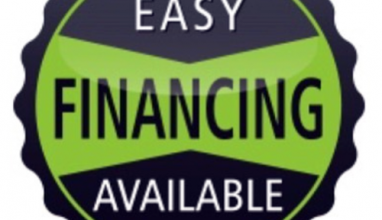 NOW OFFERING FINANCING – BUY NOW & PAY LATER