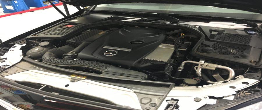 Mercedes-Benz C300 (w205) ECU Removal Guide