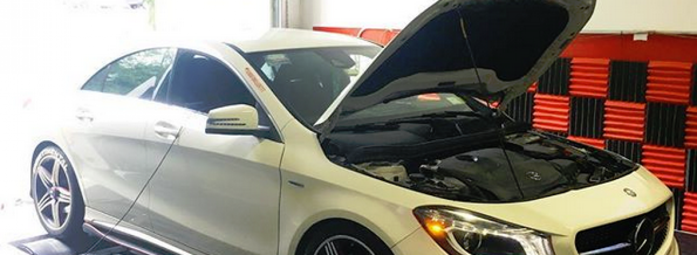 AMR Performance Reviews – Wilson's Mercedes-Benz CLA250