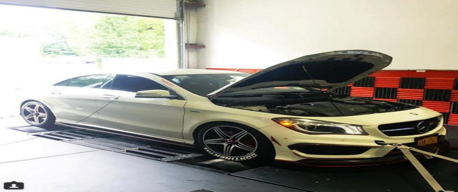 AMR Performance Reviews – Wilson's Mercedes-Benz CLA250