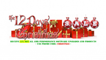 AMR PERFORMANCE 12 DAYS OF CHRISTMAS SALE!
